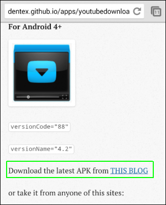 Youtube Download for Android