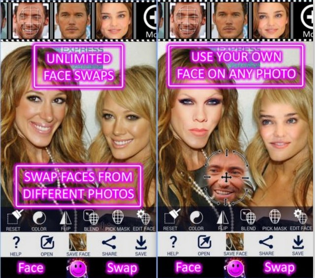 Face Swap Booth App