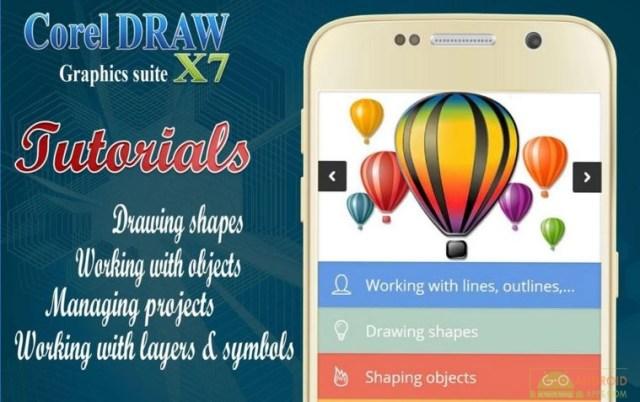 Master Coreldraw X7 App