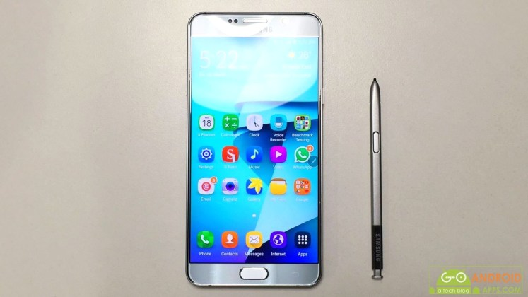 Samsung Galaxy Note 5 Dual Review