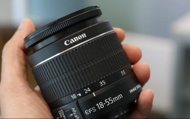 Canon EOS 1300D Lens