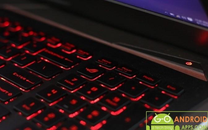 Asus ROG G752VY Keyboard