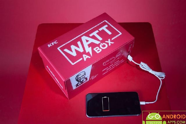 KFC Wall A Box Meal You Can Charge Your Body and Phone