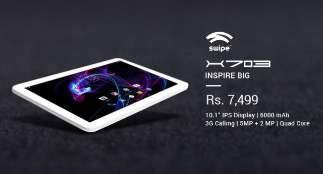 Swipe X703 Tablet