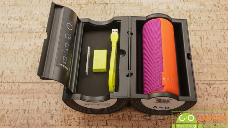 UE Boom 2 Portable Bluetooth Speaker Box with Accessories