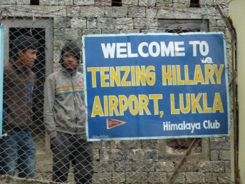 Welcome to Tenzing Hillary Airport