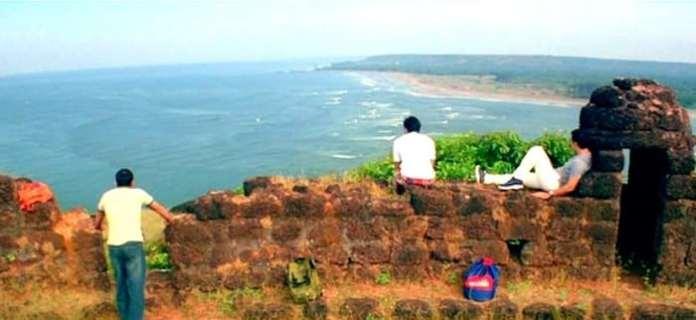chapora-fort-goa-view