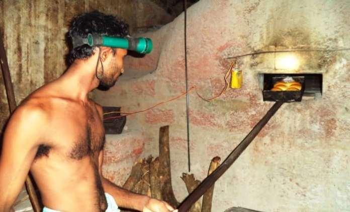 Oven for Goan bread