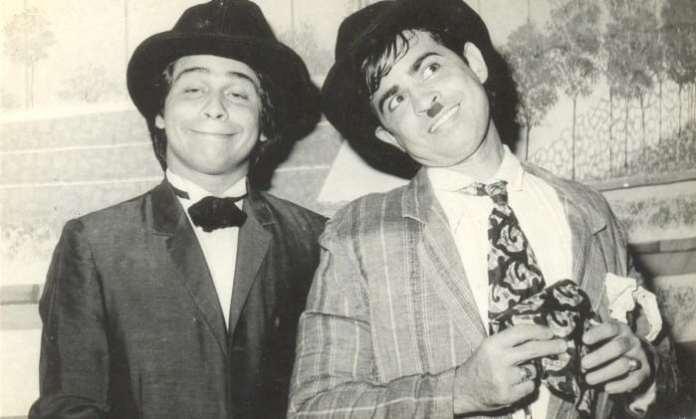 Pangllo - tiatr as Jacob, Laurel & Humbert- Hardy, Prince Jacob with his comedian brother Photo N