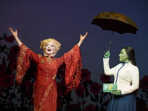 Madame Morrible and Elphaba Photo courtesy of Joan Marcus