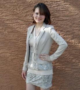 Summer dress w jacket 7