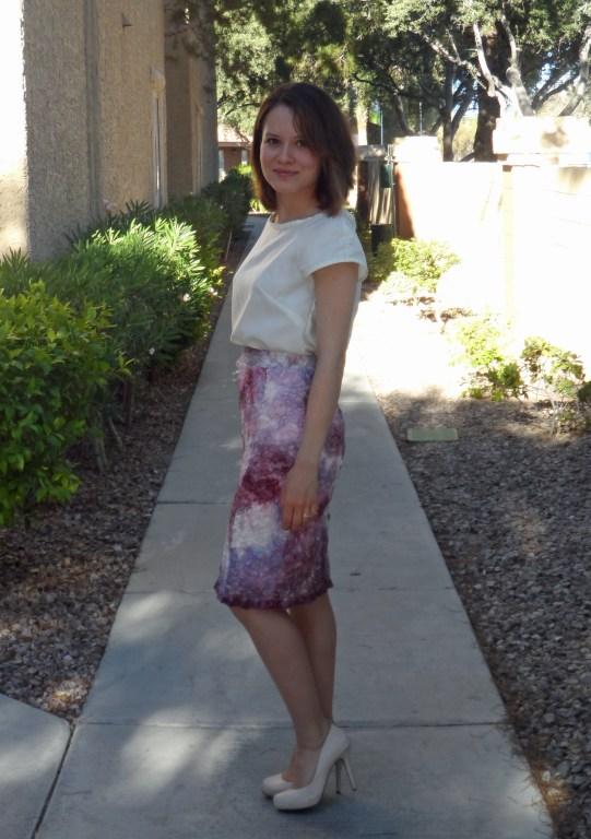 Valentino inspired lace skirt 2