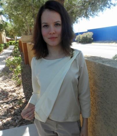 Wrap blouse 2
