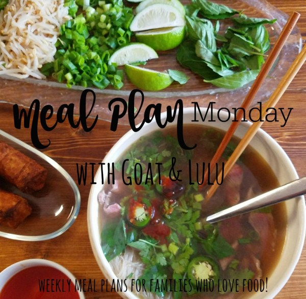 meal plan monday graphic