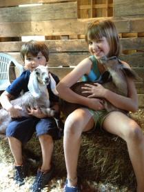 Kids holding kids!