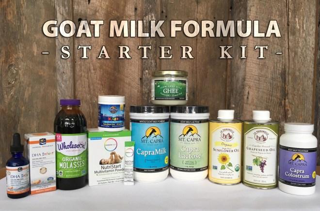 the infant formula recipe kit