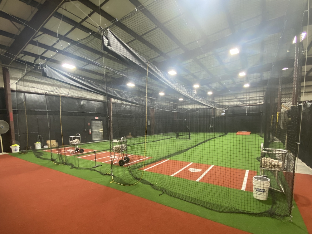 Professional batting cages