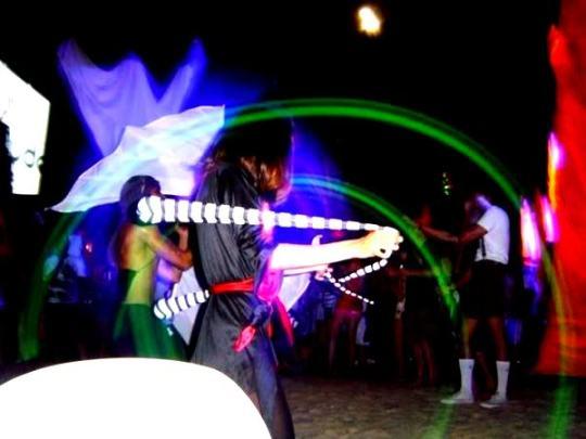 Nightlife on Boracay's beaches
