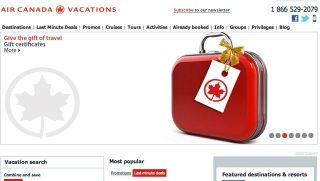 Review: Travel Deals with Air Canada Vacations