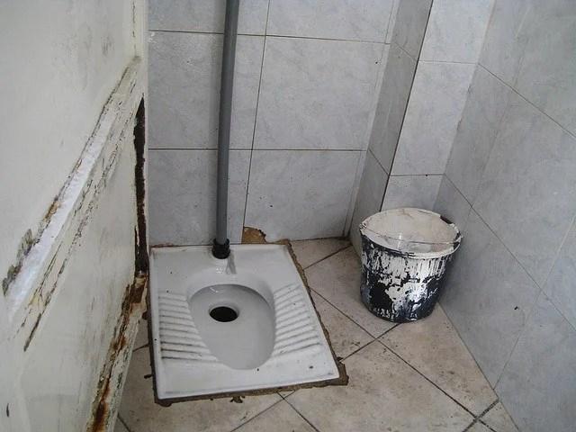 squat toilet middle east