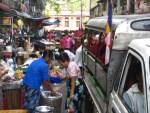 Daily Life in Yangon Burma