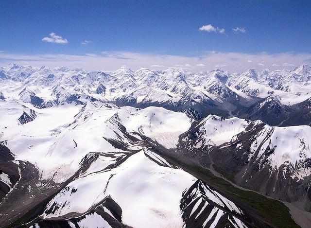 The Tian Shan Mountains