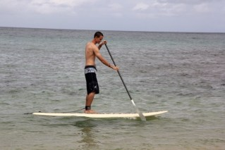 Stand Up Paddle Boarding for the First Time