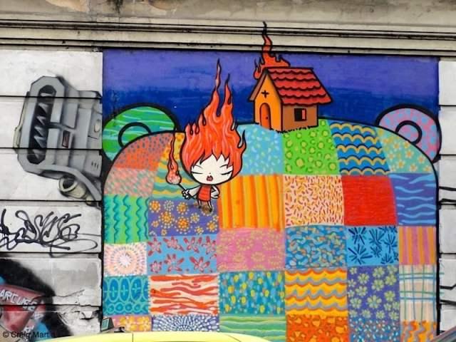 Street art in Rio de Janeiro (photo: Craig Martin)