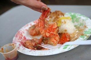 The Shrimp Trucks on Oahu's North Shore