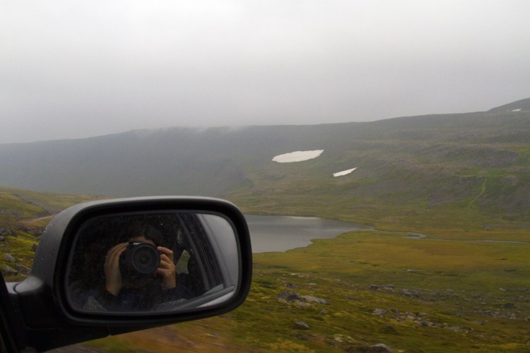 Road tripping in the Westfjords of Iceland