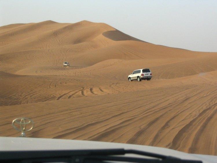 Desert Safari, one of many things to do in Dubai