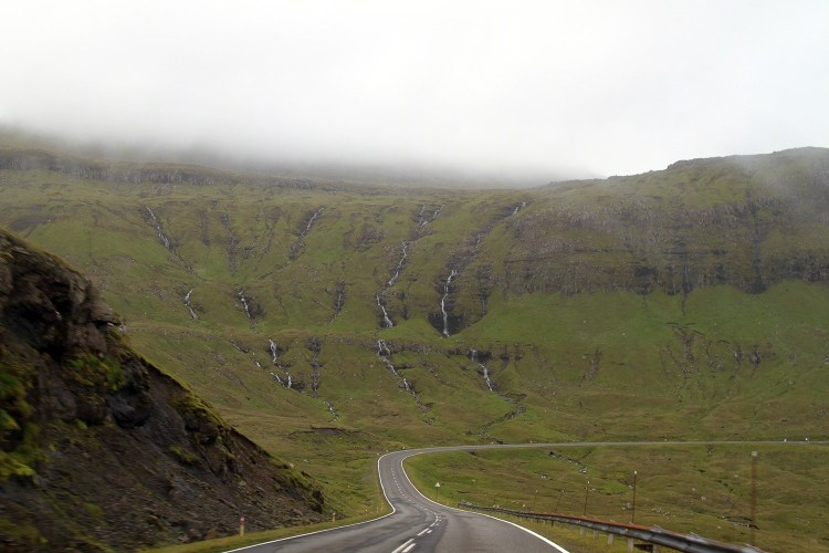 The scenery in the Faroes is jaw-droppingly beautiful.