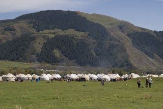 World Nomad Games: A Sports Competition in the Kyrchyn Gorge