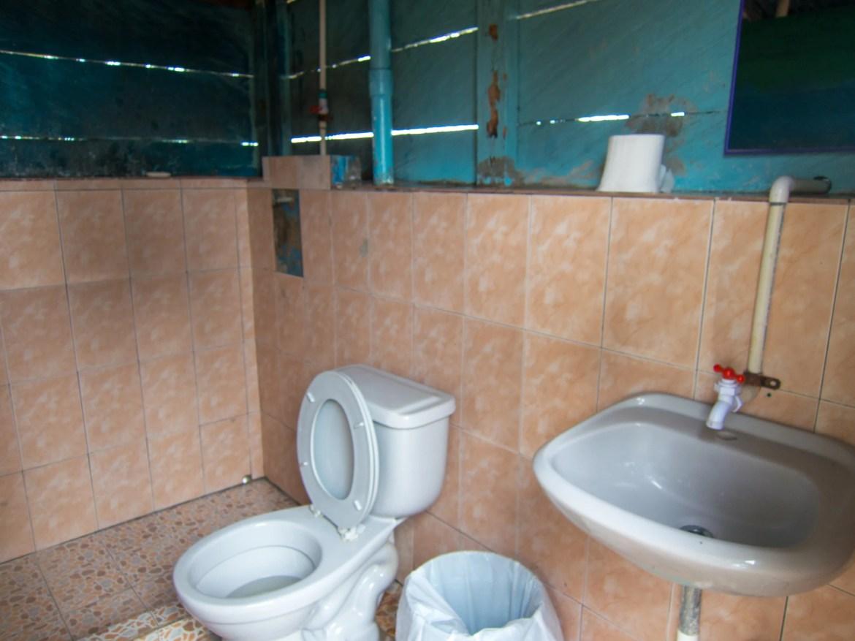 Communal guest bathroom