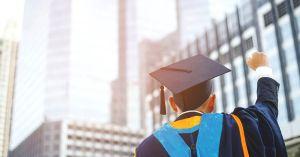 Mature student. Graduation. University Degree
