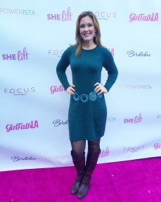 Christine O'Donnell Rocking the Pink Carpet