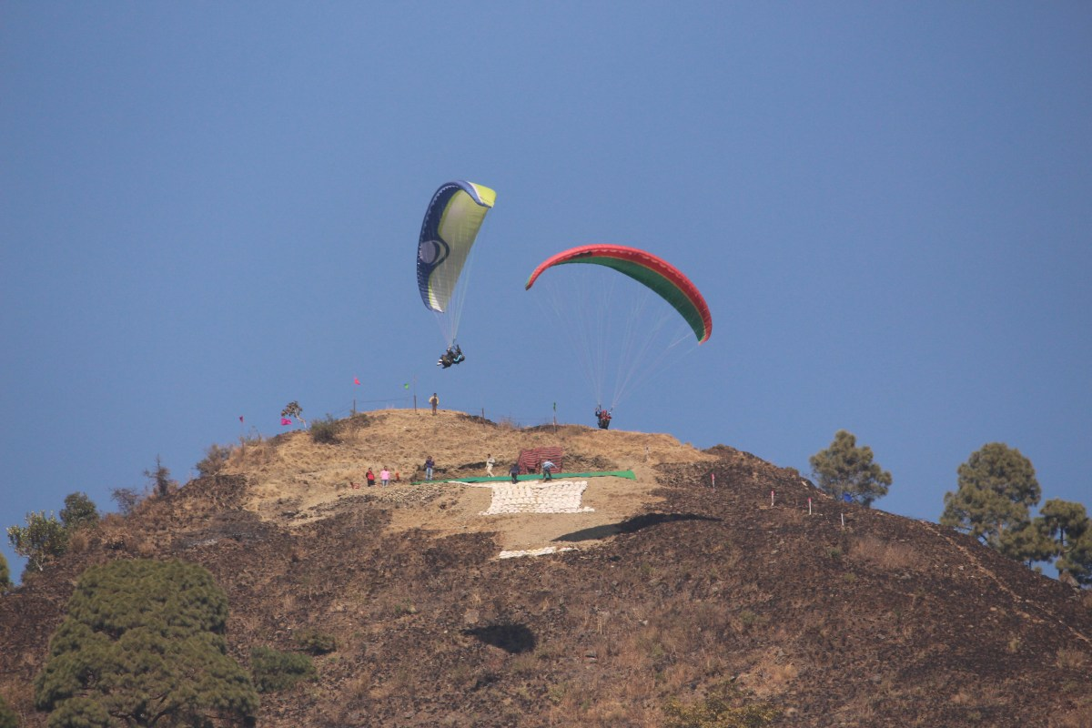I got Wings: My first Paragliding experience