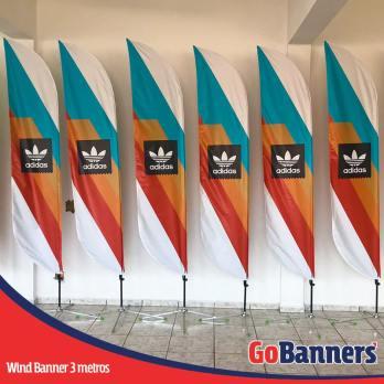 Wind Banner PENA com 3 metros - ADIDAS