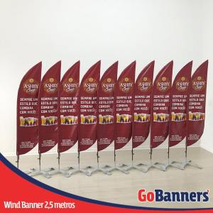 wind banner 2,5 metros ashby chopp