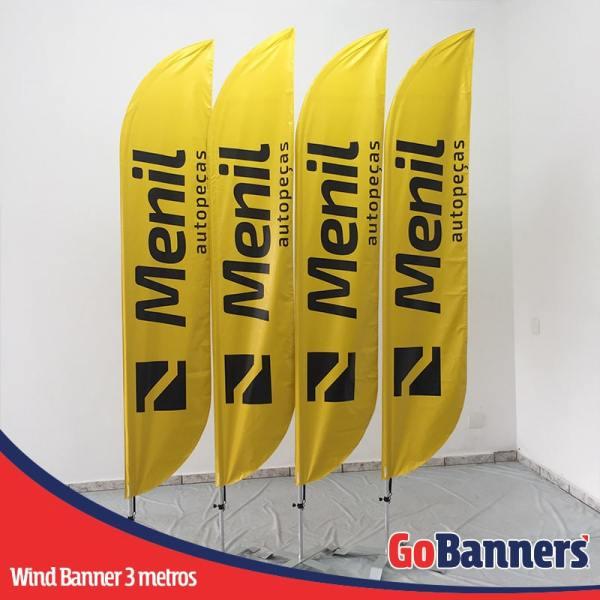 wind banner 3 metros mentil auto pecas