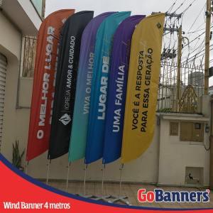 wind banner 4 metros igueja amor