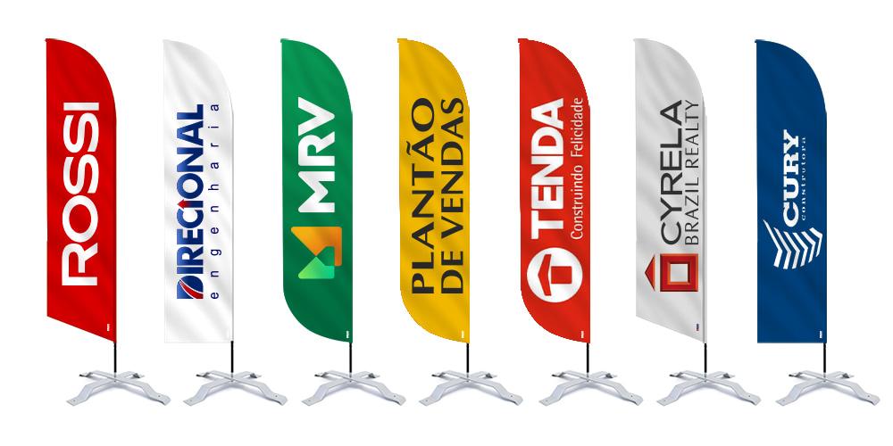 Como utilizar wind banners para vender imoveis plantão de vendas