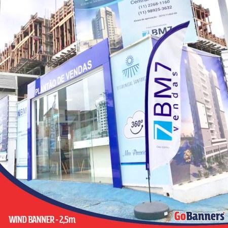 Como utilizar wind banners para vender imoveis - plantão de vendas
