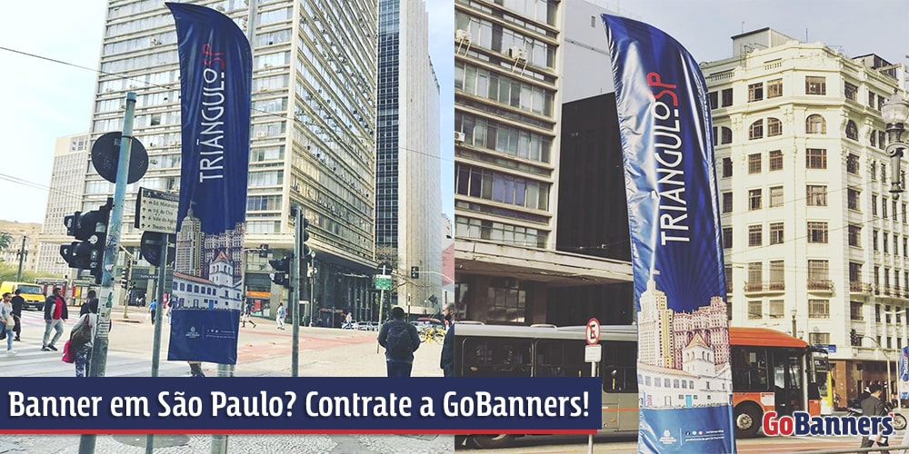 Banner em São Paulo com a GoBanners