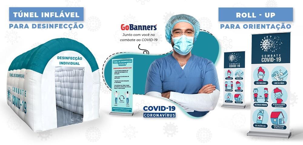 Túnel de desinfecção aliado no combate ao Coronavirus