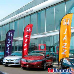 Wind Banner Honda