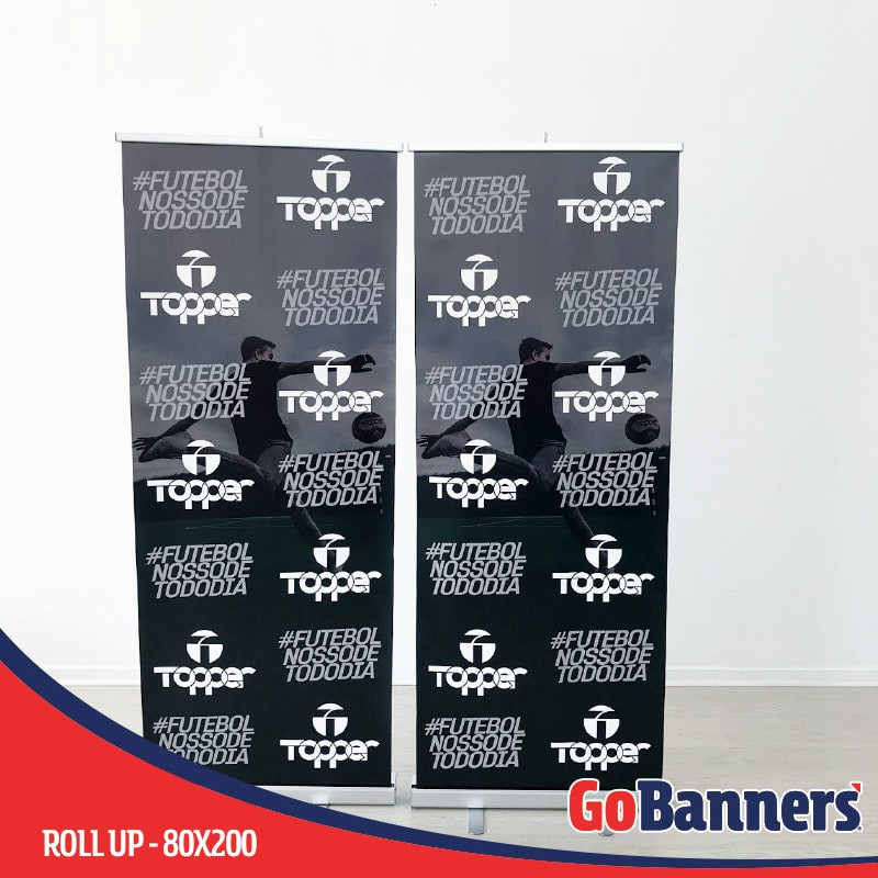 ROLL UP BANNER TOPPER