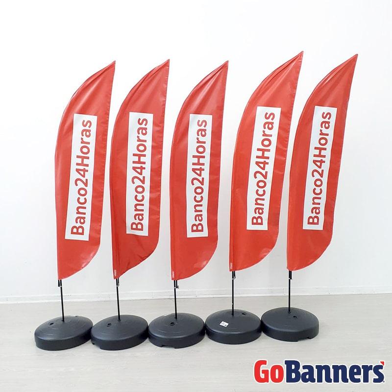 boa comunicacao visual com banner banco 24 horas