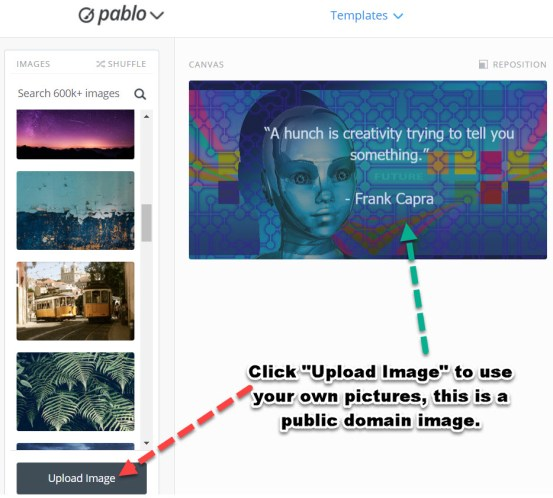 Adding Images to Pablo