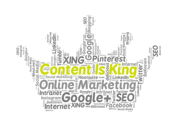 Content still king by Suomy CC0 Public Domain
